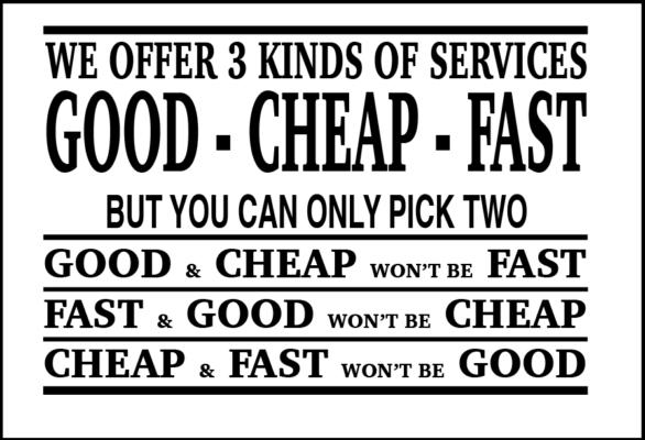 billigste tjenester